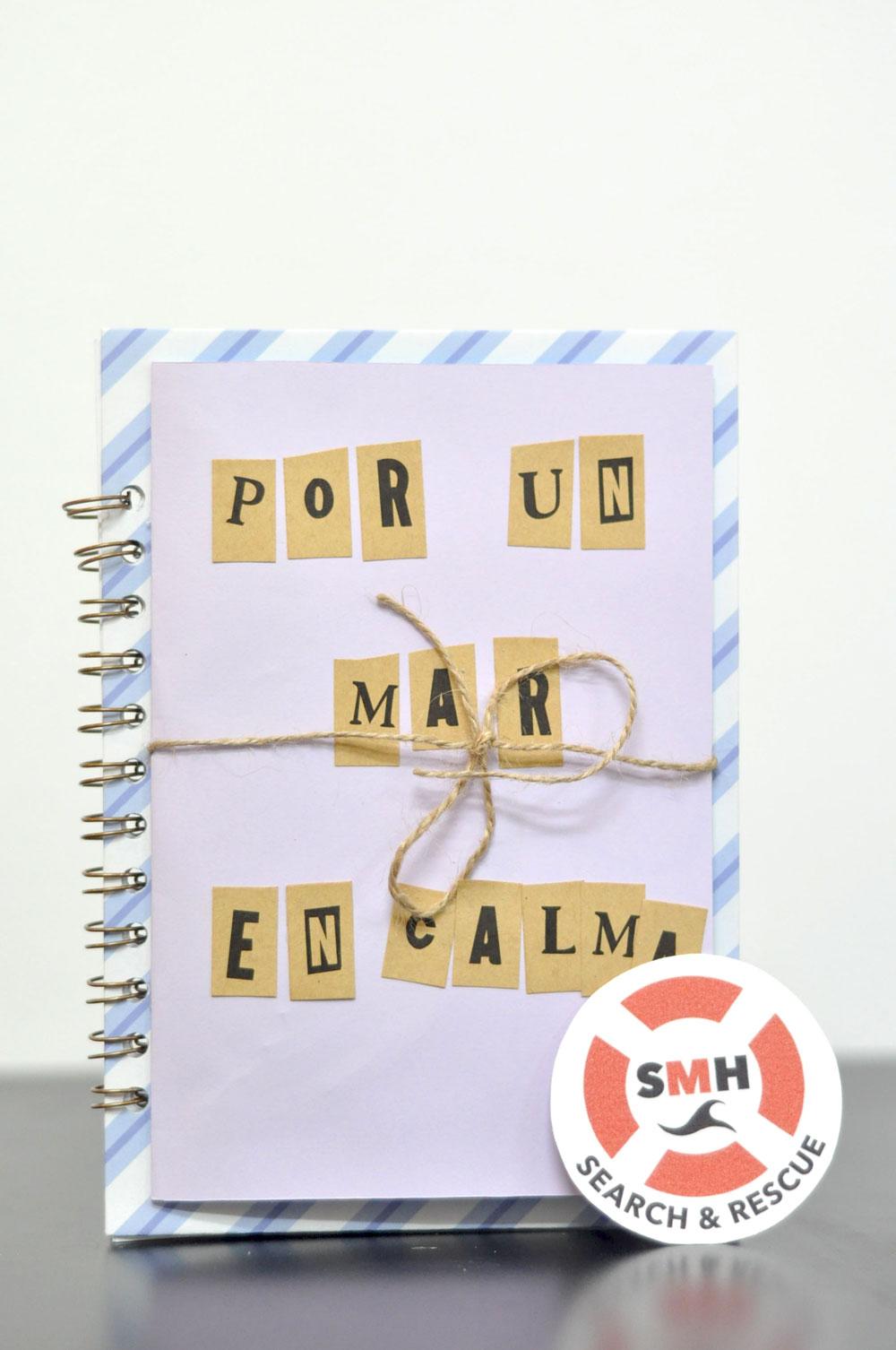 Cuaderno solidario creado por Haria Slow Fashion