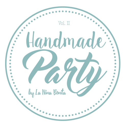 Logotipo Handmade Party by La Niña Bonita