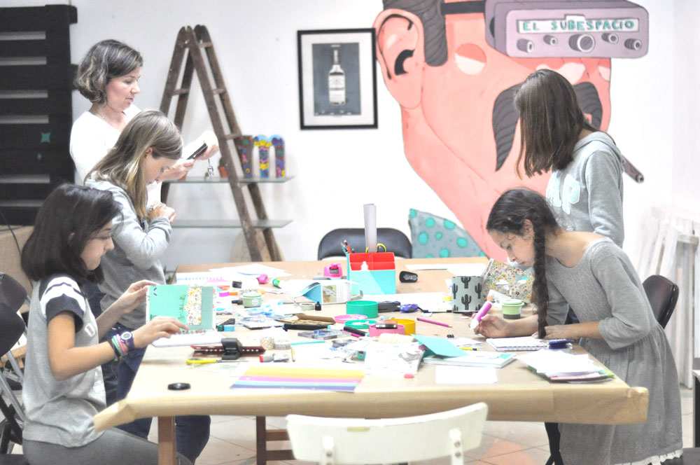 Cumpleaños DIY - Taller de scrapbooking infantil