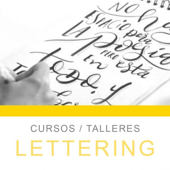 curso de lettering en donsotia