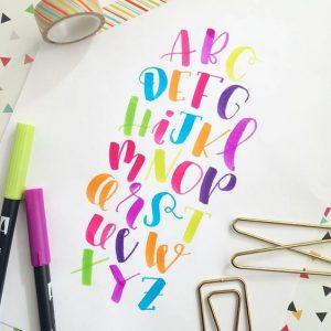 Lettering colors 01