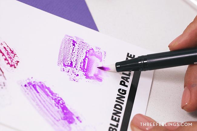Lettering - Degradado con Blender