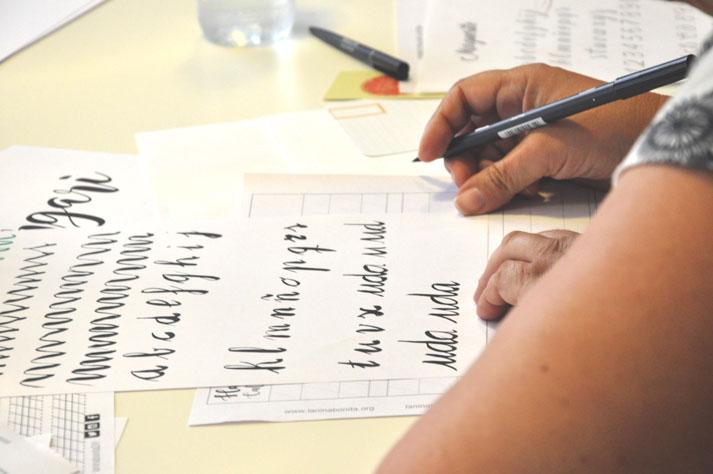 Curso de iniciación al lettering