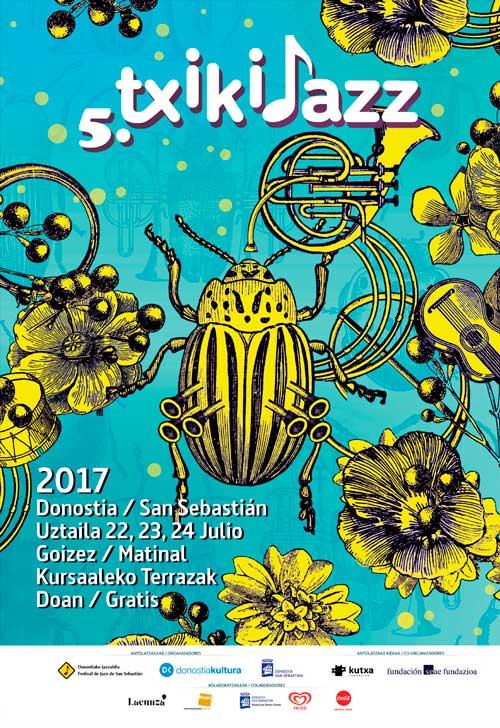 Cartel para la 5 edición del txikijazz
