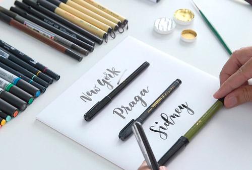 Curso de caligrafía creativa