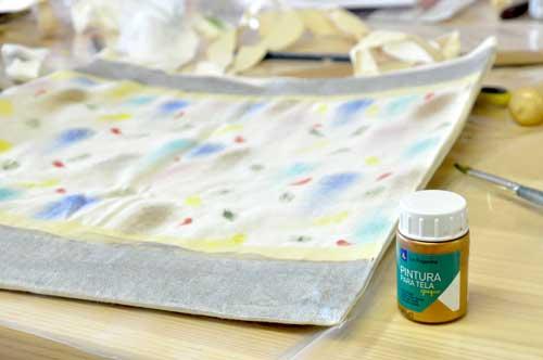 Pinturas metálicas para textil marca la pajarita