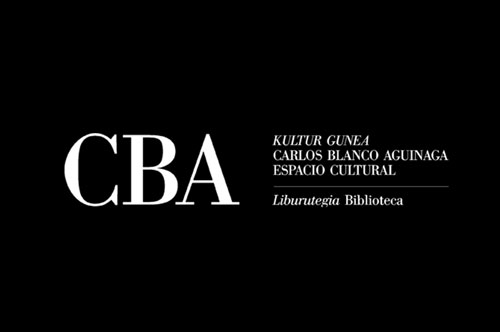 Logotipo CBA biblioteca municipal de Irún