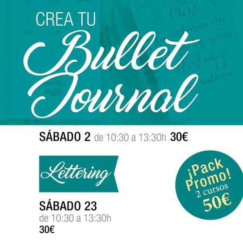 Bullet Journal y Lettering en Donostia