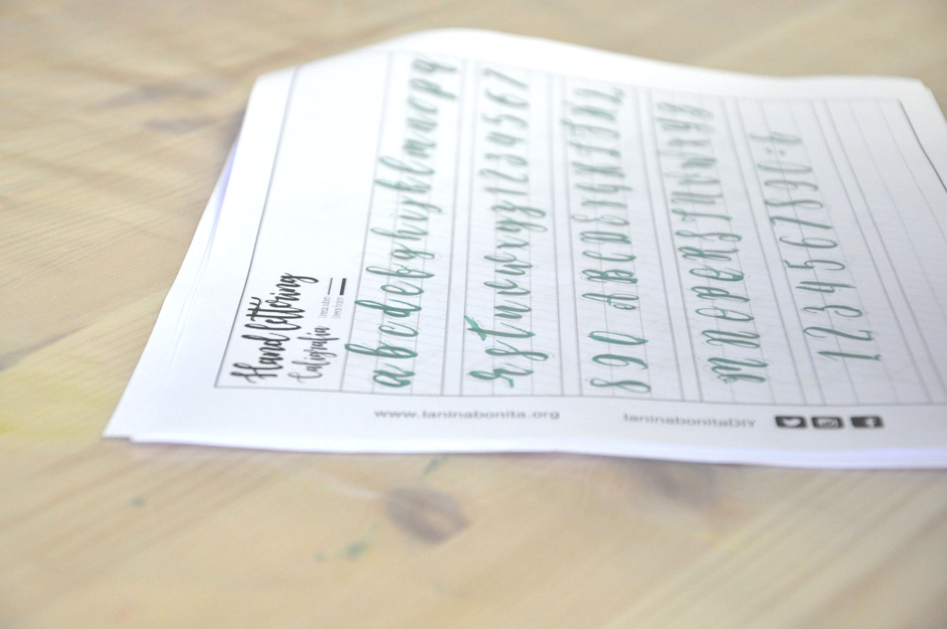 Taller de lettering y caligrafía creativa