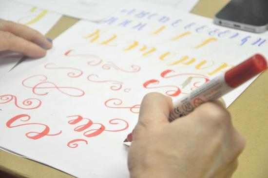 Lettering y filigranas
