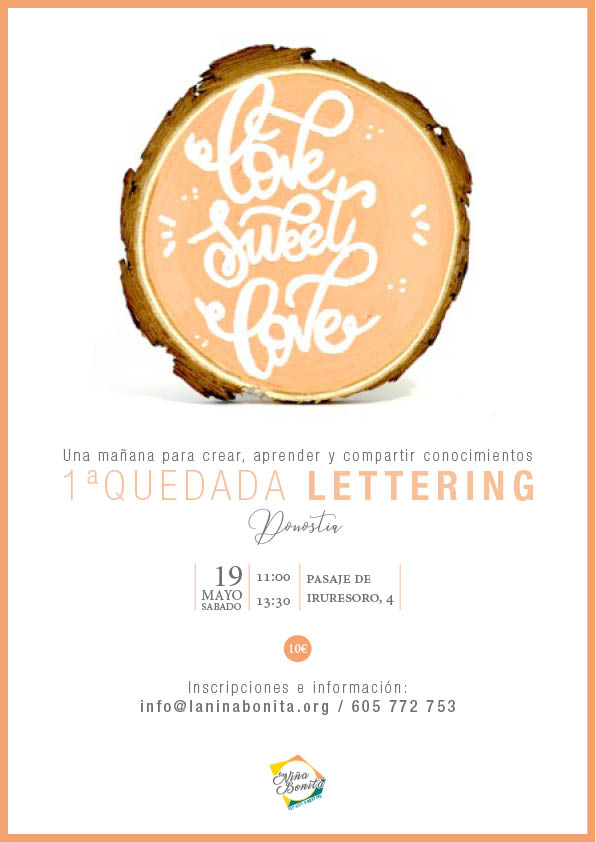Quedada de lettering y caligrafía
