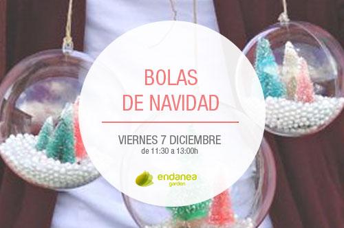 Curso de bolas de navidad en Irun Hondarribia
