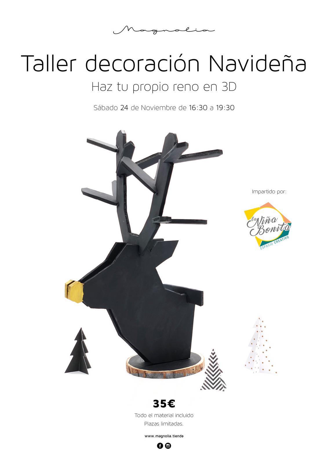 Reno Navidad en 3d