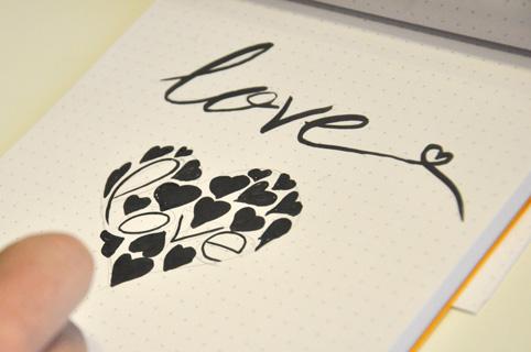 Letras bonitas. Love