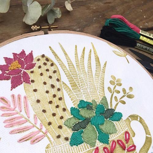 curso de bordado floral