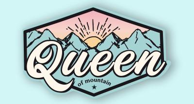 Logotipo de marca de montaña